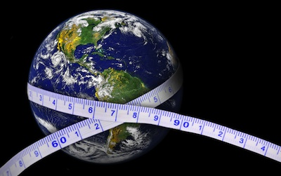 measuring tape around the world