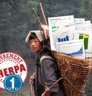 Sherpa with charts level 1