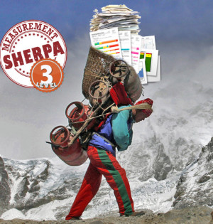 sherpa with charts level 3