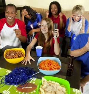 Super Bowl party
