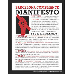 #BEBarcelonaCompliant broadsheet